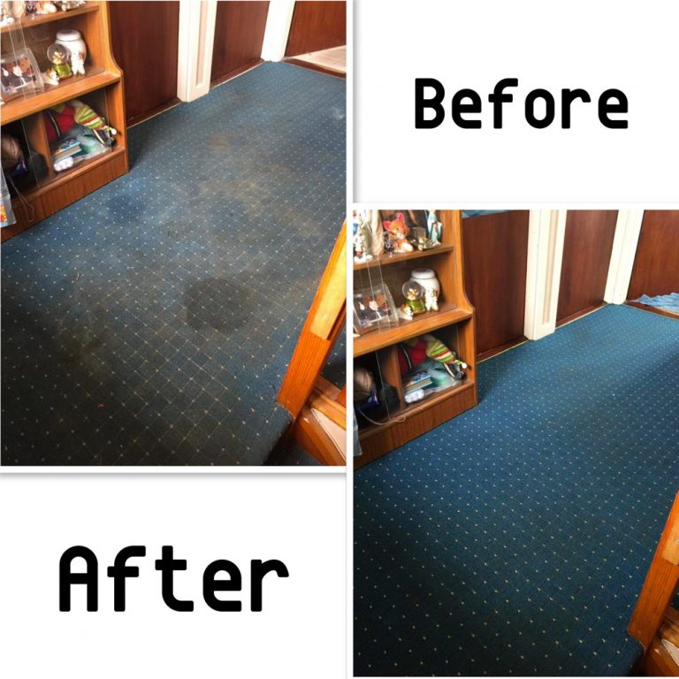 smelly carpets cleaned