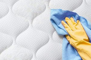 mattress stains to be treated